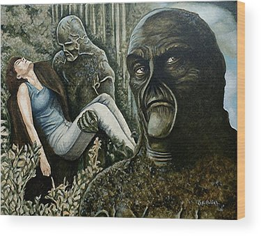 Swamp Thing Wood Prints