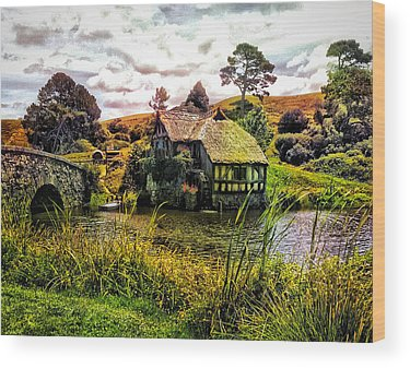 The Shire Wood Prints