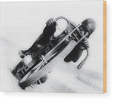 Harley Motorcycle Wood Prints