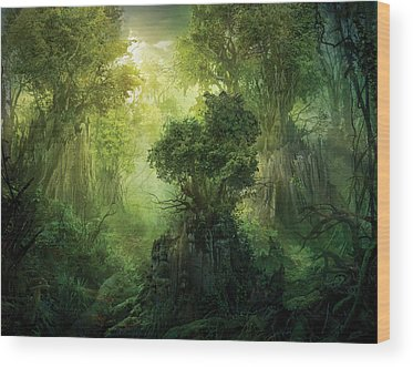 Fantasy Wood Prints