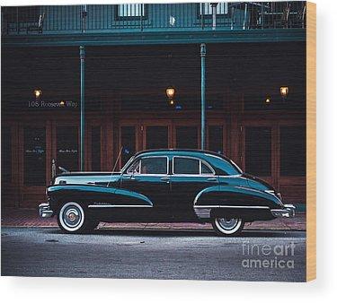 Automobile Wood Prints