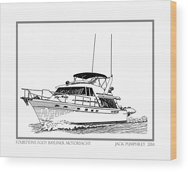 Bayliner Wood Prints