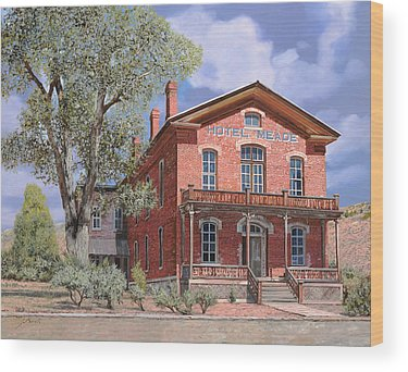Ghost Town Wood Prints