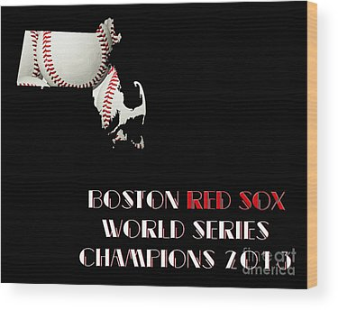Baseball Wood Prints