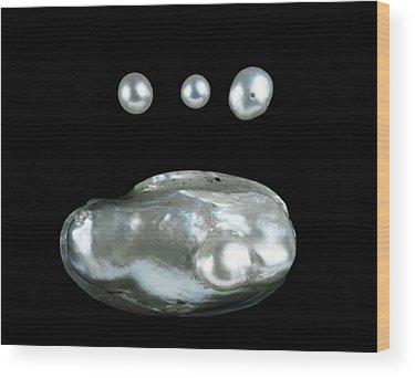 Freshwater Pearls Wood Prints