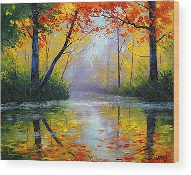 Maple Tree Wood Prints