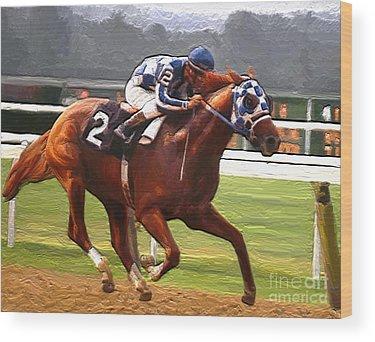 Kentucky Derby Wood Prints