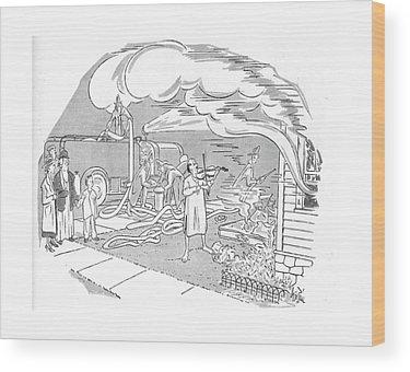 Nightshirts Wood Prints