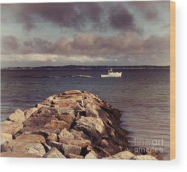 Waterbreak Wood Prints
