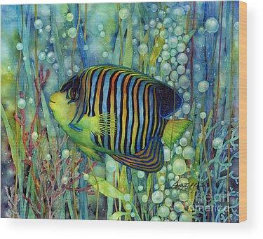 Angel Fishes Wood Prints