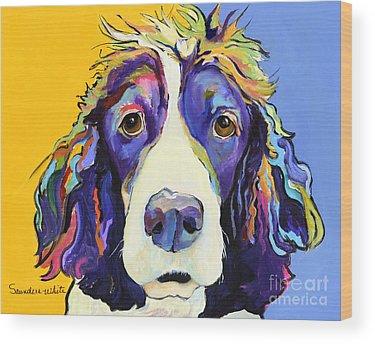 Canine Wood Prints