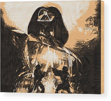 Star Wars Episode 3 Wood Prints