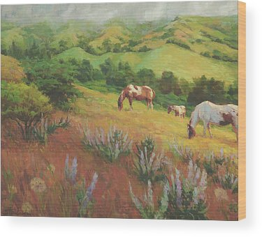 Horse Artwork Wood Prints