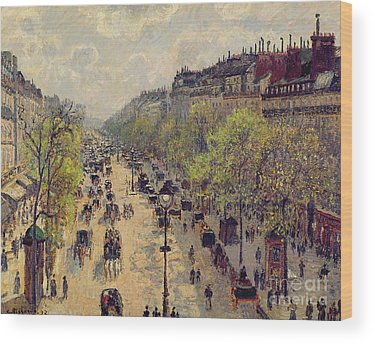 Horse And Carriage Wood Prints