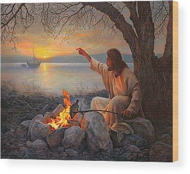 Disciple Wood Prints