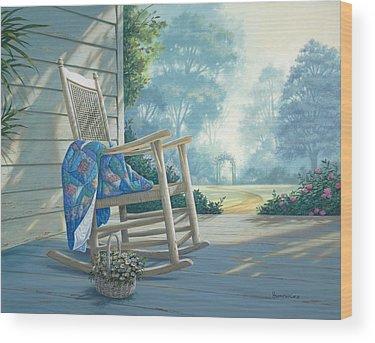 Rocking Chair Wood Prints