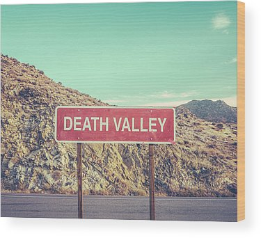 Death Valley Wood Prints