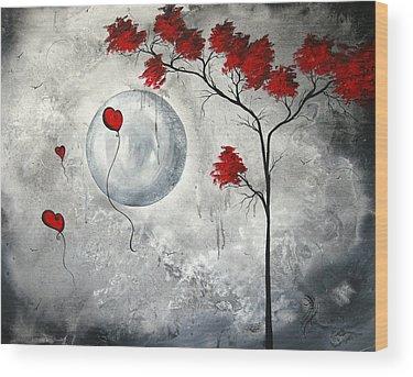 Crimson Wood Prints