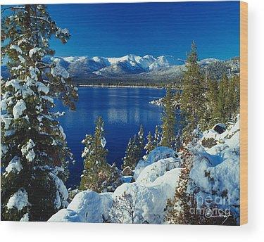 Winter Wood Prints