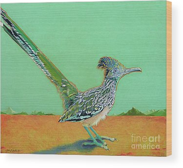 Roadrunner Wood Prints