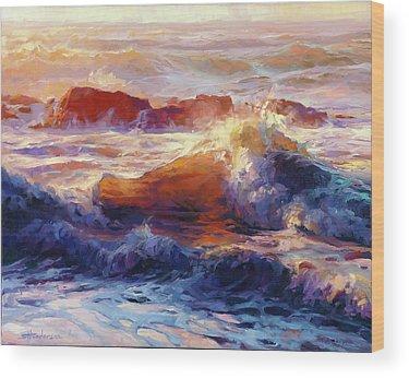 Deep Sea Wood Prints