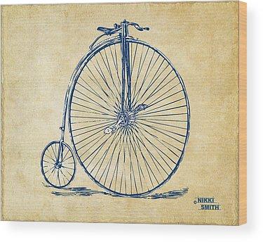 Patent Drawing Wood Prints
