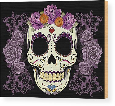 Purple Wood Prints