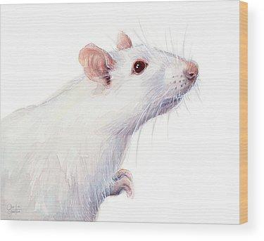 Mice Wood Prints
