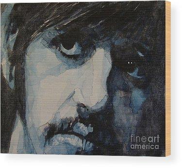 Ringo Starr Wood Prints
