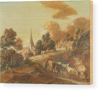 Thomas Gainsborough Wood Prints