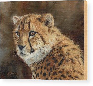 Cheetah Wood Prints