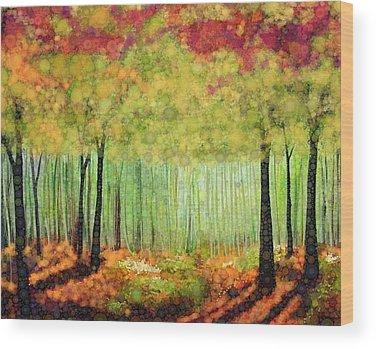 Romanticism Wood Prints