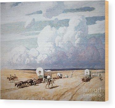 Storms Wood Prints