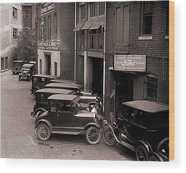 Model T Wood Prints