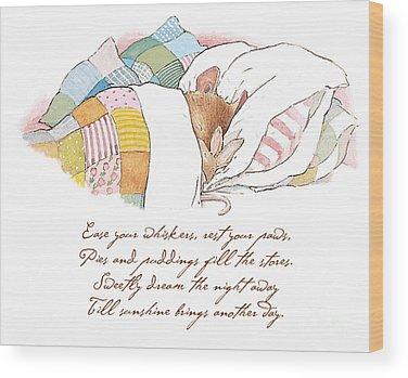 Coloured Wood Prints
