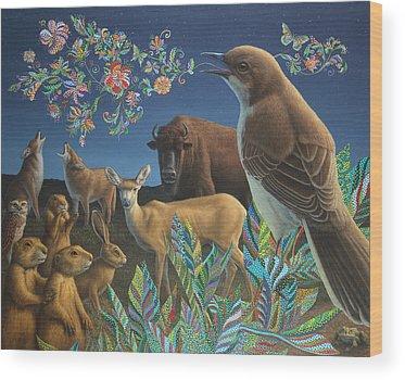 Coyote Wood Prints