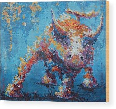Bull Wood Prints