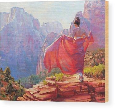 Zion Canyon Wood Prints