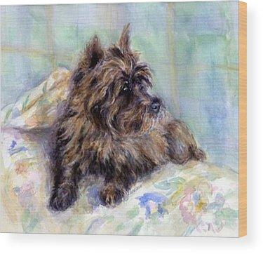 Cairn Terrier Wood Prints