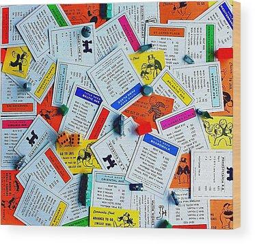 Monopoly Wood Prints