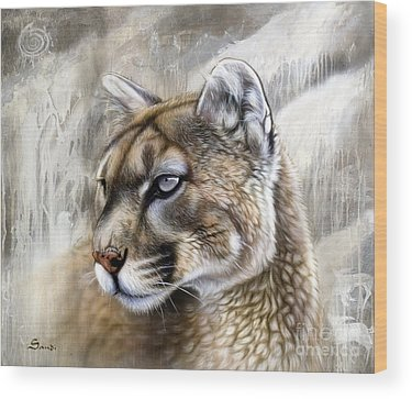 Panther Wood Prints
