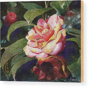 Camellias Wood Prints