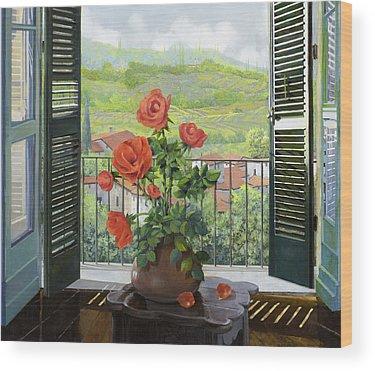 Balconies Wood Prints