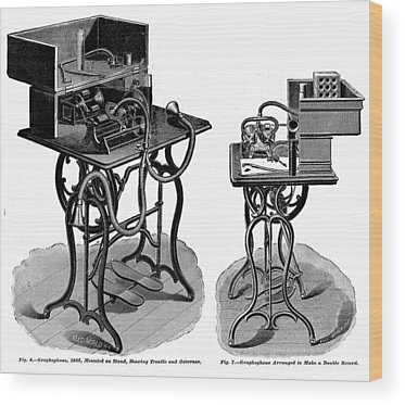 Dictaphone Wood Prints