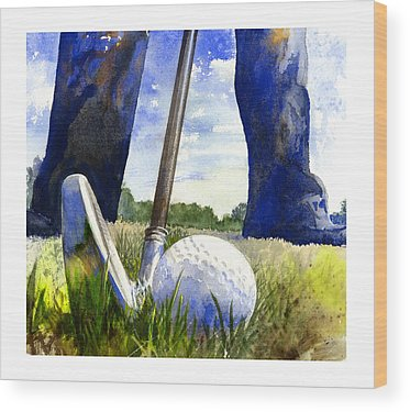 Golf Wood Prints