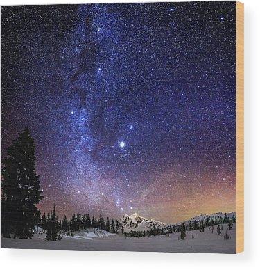 Planets Wood Prints