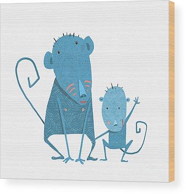 Parents Wood Prints