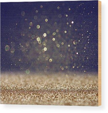 Blurry Photographs Wood Prints