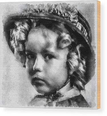 Shirley Temple Wood Prints