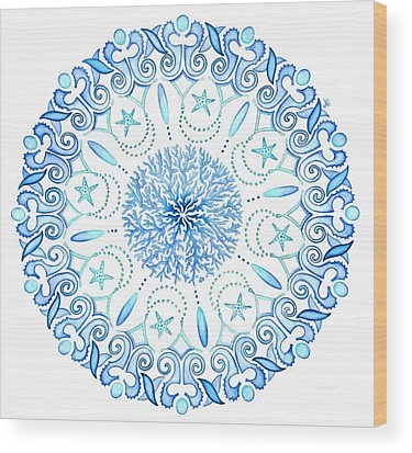 Mandala Wood Prints